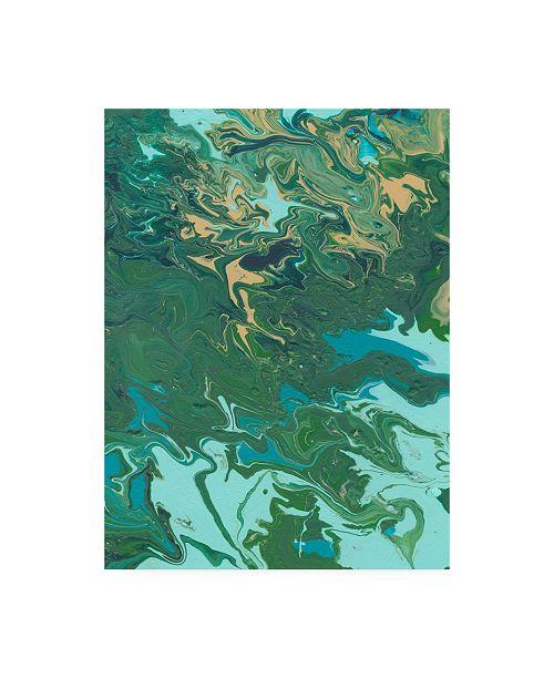 "Trademark Global Regina Moore Rambling Sage I Canvas Art - 37"" x 49"""
