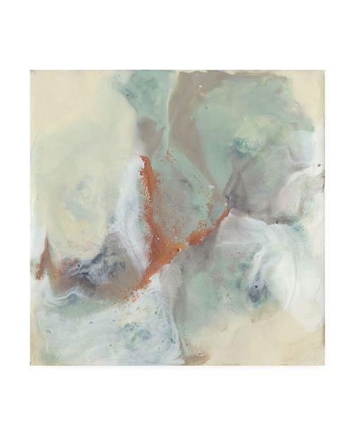 "Trademark Global Jennifer Goldberger Copper River I Canvas Art - 15"" x 20"""