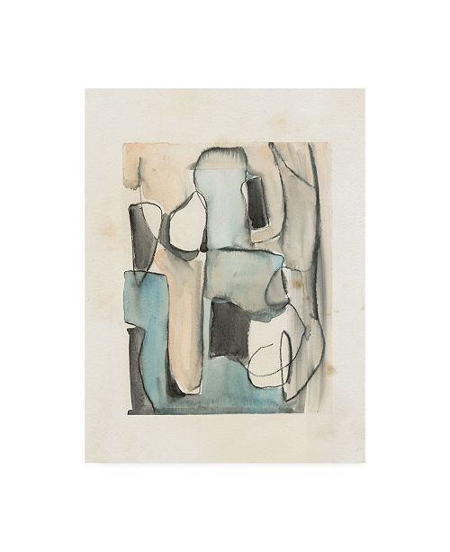 """Trademark Global Jennifer Paxton Parker Subdued Abstract I Canvas Art - 15"""" x 20"""""""