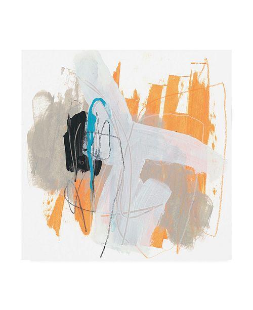"Trademark Global June Erica Vess Symphony in Riffs IV Canvas Art - 15"" x 20"""