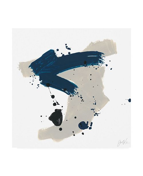 "Trademark Global June Erica Vess Kanji V Canvas Art - 27"" x 33"""