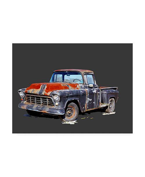 """Trademark Global Emily Kalina Vintage Truck IV Canvas Art - 20"""" x 25"""""""