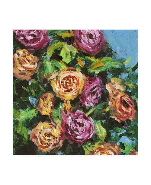 "Trademark Global Melissa Wang Roses in Sunlight I Canvas Art - 20"" x 25"""