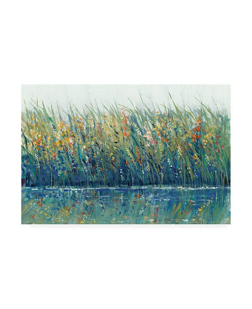"Trademark Global Tim Otoole Wildflower Reflection I Canvas Art - 15"" x 20"""