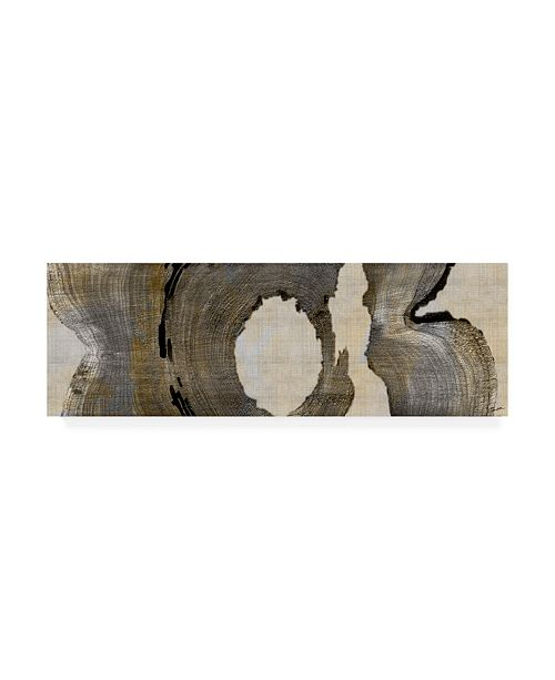 "Trademark Global John Butler Cedar Round II Canvas Art - 20"" x 25"""