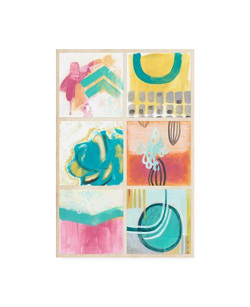 "Trademark Global June Erica Vess Gallery Petite I Canvas Art - 15"" x 20"""
