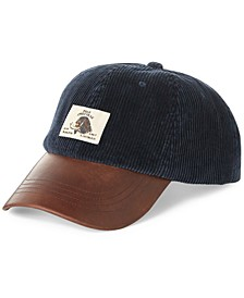 Men's Corduroy Polo Sportsman Cap