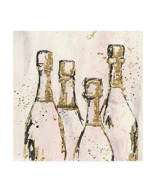 "Trademark Global Chris Paschke Champagne is Grand I Canvas Art - 15.5"" x 21"""