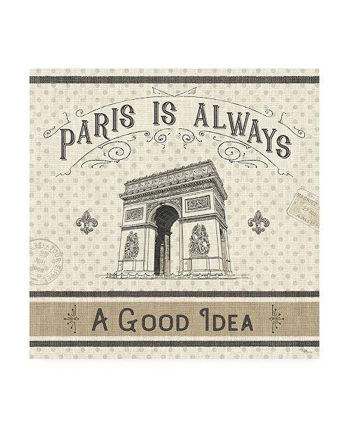 "Trademark Global Pela Studio Paris Farmhouse IV Canvas Art - 36.5"" x 48"""