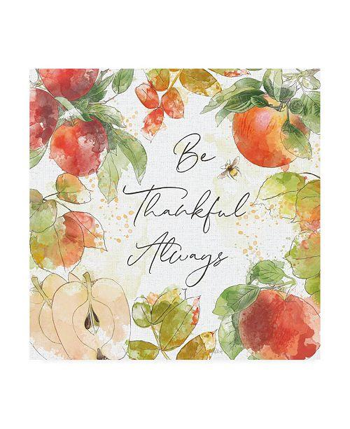 """Trademark Global Katie Pertiet Orchard Harvest II Canvas Art - 15.5"""" x 21"""""""