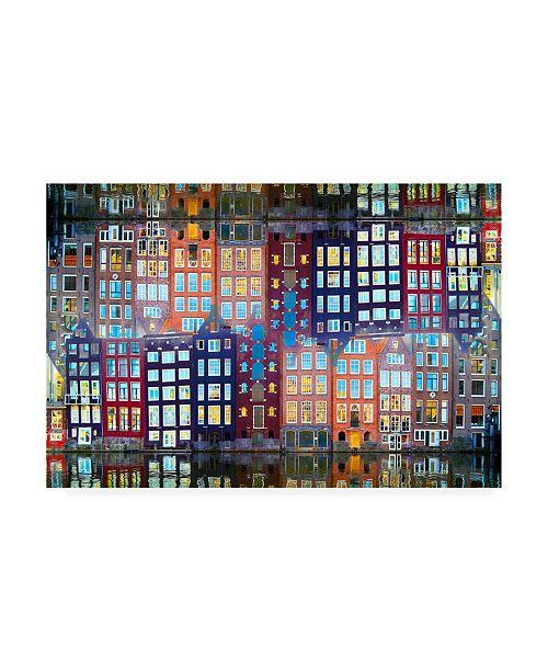 "Trademark Global Igor Shrayer Amsterdam 40 Canvas Art - 15.5"" x 21"""