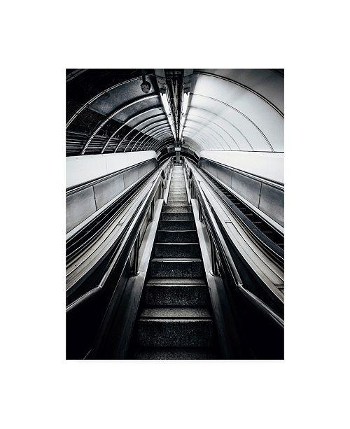 "Trademark Global Design Fabrikken Metro Fabrikken Canvas Art - 15.5"" x 21"""
