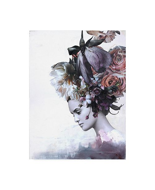 "Trademark Global Design Fabrikken Haute Couture 7 Fabrikken Canvas Art - 19.5"" x 26"""