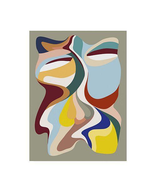 """Trademark Global Design Fabrikken Born Again 3 Fabrikken Canvas Art - 27"""" x 33.5"""""""
