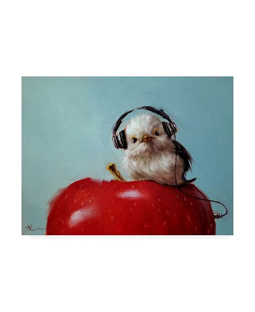 "Trademark Global Lucia Heffernan Apple Music Canvas Art - 36.5"" x 48"""