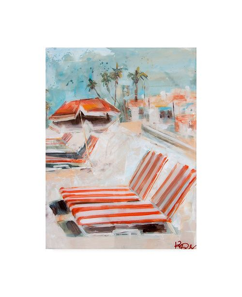 "Trademark Global Kym De Los Reyes The Lounge Canvas Art - 36.5"" x 48"""