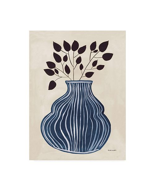 "Trademark Global Megan Galante Lapis Vase Canvas Art - 27"" x 33.5"""