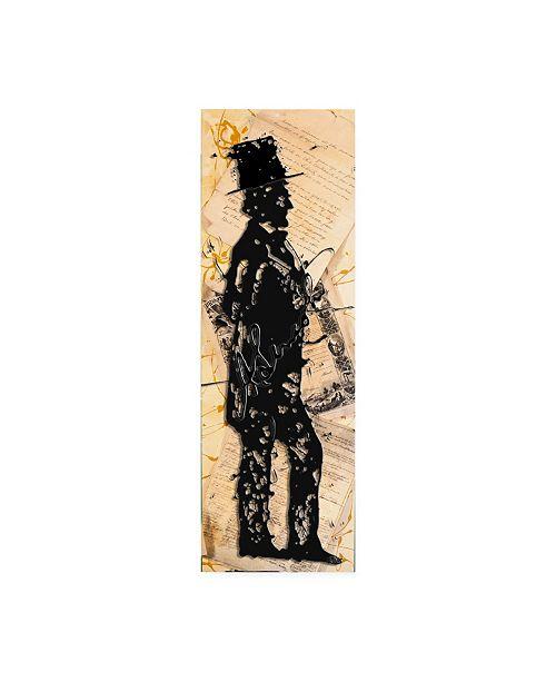 """Trademark Global Roderick Stevens Lincoln Tall Canvas Art - 27"""" x 33.5"""""""