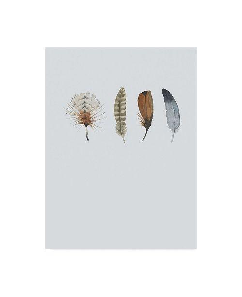 """Trademark Global Incado Feather 12 Canvas Art - 36.5"""" x 48"""""""