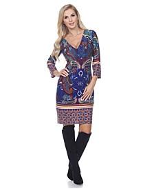 Women's Vivian Snake Print Dress