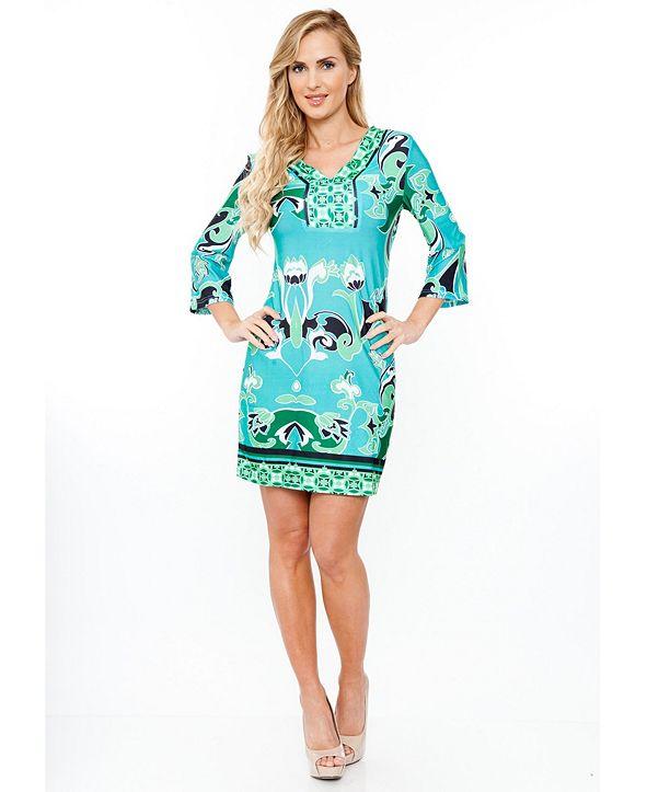 White Mark Women's Miranda Dress