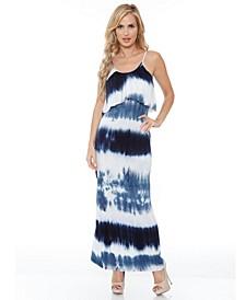 Women's Kaleatie Dye Overlay Maxi Dress