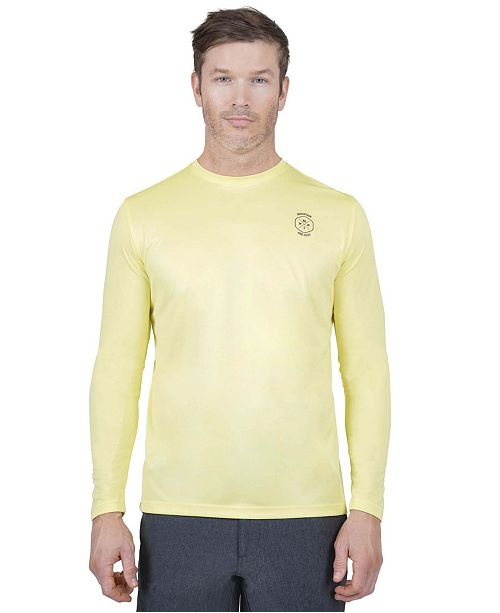 Mountain And Isles Sun Protection Long Sleeve Fish and Beer T Shirt