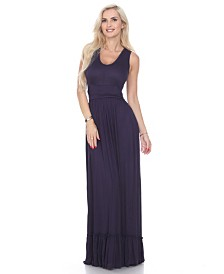 White Mark Women's Medina Maxi Dress