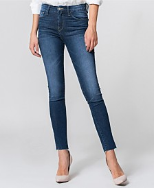 Flying Monkey Mid Rise Ankle Skinny Jeans