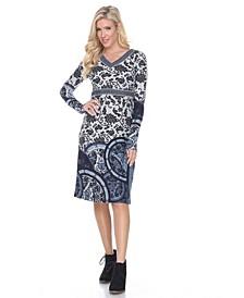 Women's Naarah Embroidered Sweater Dress