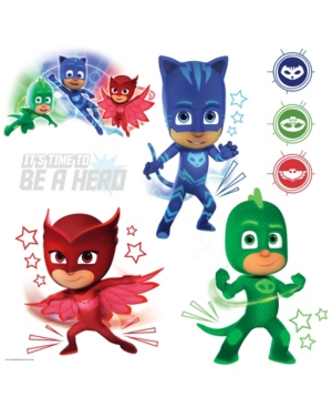 Pj Masks with Glow Peel and Stick Wall Decals