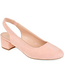 Women's Zippy Pumps