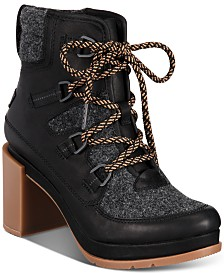 Sorel Women's Blake Waterproof Lace-Up Booties