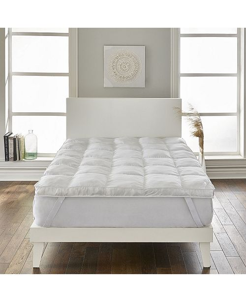 """Rio Home Fashions Loftworks Super-Loft 3"""" Down Alternative Mattress Topper/Fiber Bed with Anchor Bands Collection"""