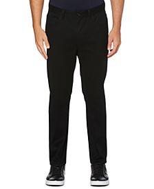 Men's Tall Slim-Fit Performance Stretch Wrinkle-Resistant Stain-Repellent Twill Pants