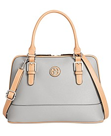 Saffiano Dome Satchel, Created for Macy's