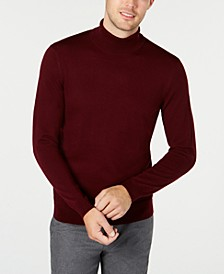 Men's Merino Turtleneck Sweater, Created for Macy's