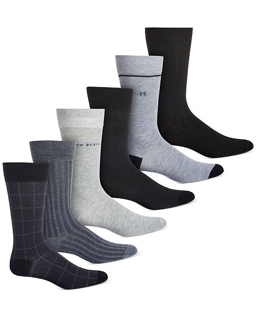 Perry Ellis Men's 6-Pk. Socks