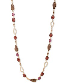 """Gold-Tone 42"""" Beaded Strand Necklace"""