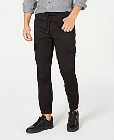 Men's Elastic Cargo Pants, Created for Macy's