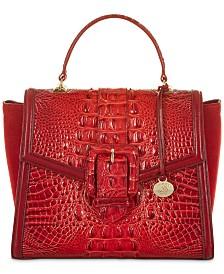 Brahmin Ingrid Pampas Leather Satchel