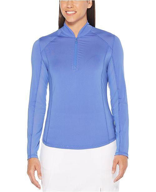 PGA TOUR Quarter-Zip Golf Sweater
