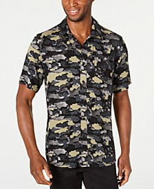 Men's Cloudy Camo Shirt, Created for Macy's