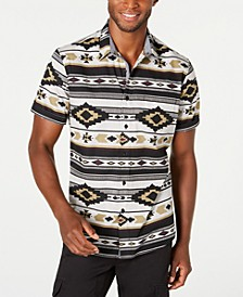 Men's Southwestern Shirt, Created for Macy's