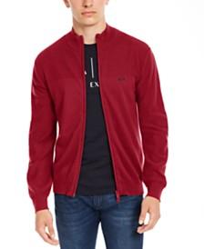 A|X Armani Exchange Men's Zip-Front Cardigan