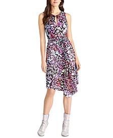 Animal-Print Dress
