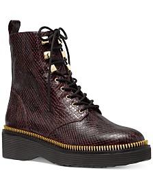 Michael Michael Kors Haskell Combat Boots