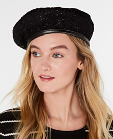 I.N.C. Sparkle Beret, Created for Macy's