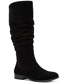 Kelimae Wide-Calf Scrunched Boots, Created for Macy's