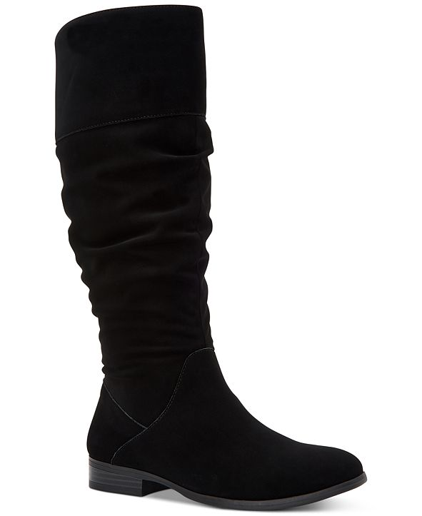Style & Co Kelimae Wide-Calf Scrunched Boots, Created for Macy's